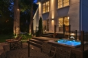 Exterior Lighting plus Hot tub